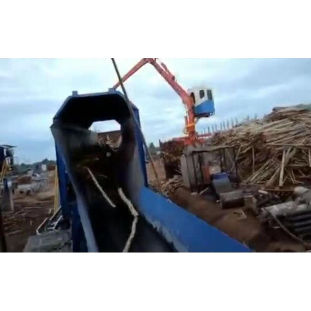 log debarking machine