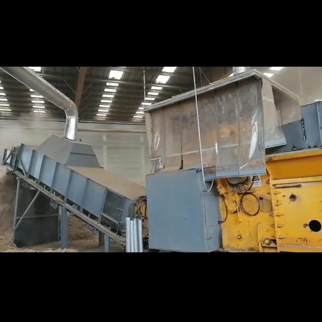 Professional China Sawdust Hammer Mill - Biomass Stalk Shredder/Stalk Shredder – Pengfuda